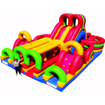 Adrenaline Maze Bouncy House