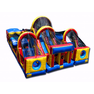 Adrenaline Rush Bounce Obstacle Course