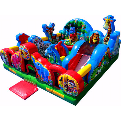 Image result for animal kingdom inflatable