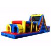 Backyard Blow Up Obstacle Course