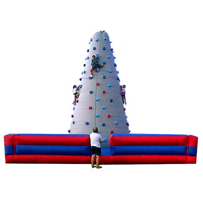 Blow Up Climbing Wall
