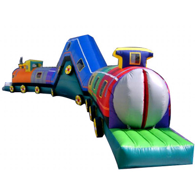 Blow Up Train Tunnel