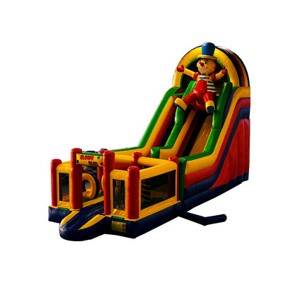 Clown Bounce House Slide Combo