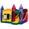 Crayon Playland Boucy Castle Combo Four