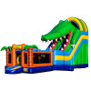 Crocdile Slide Bounce House Combo