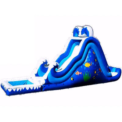 Double Drop Dry Or Wet Kids Slides