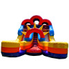 Double Lane Inflatable Slide