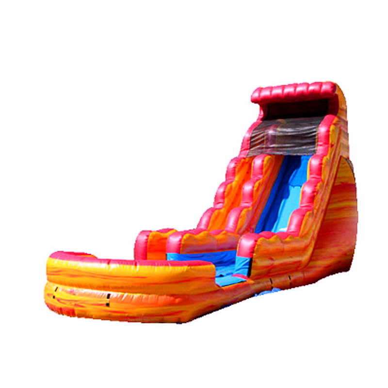 Fire And Ice Water Slide For Sale Fire Bounce House With