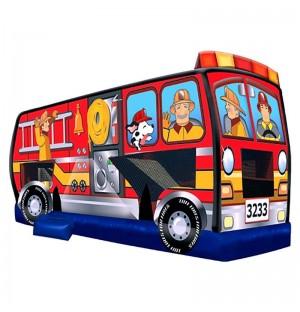Fire Truck Bounce House