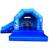 Frozen Bouncing Castle With Slide