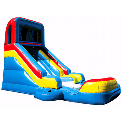 Inflatable Splash Slide And Detachable Pool Combo