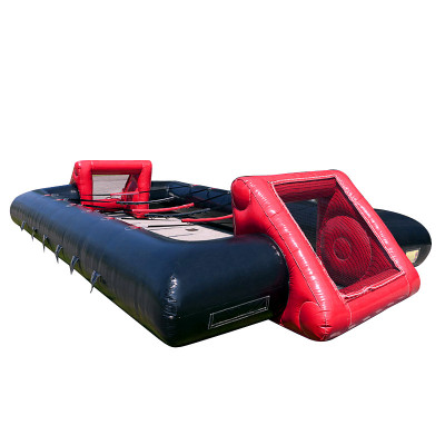 Inflatable Table Soccer Red Black