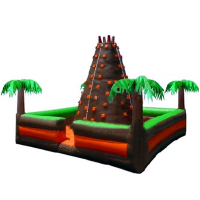 Jungle And Rock Inflatable Wall
