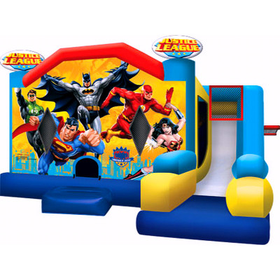 Justice League Bouncer Combo Seven