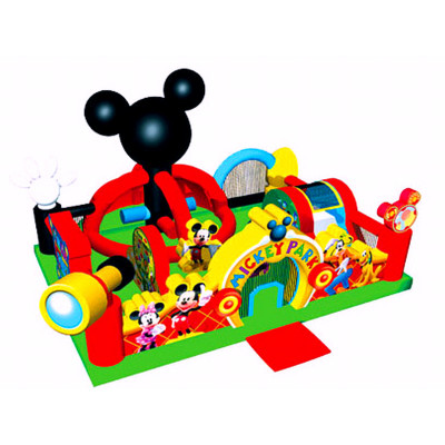 Mickey Park Toddler Bouncer
