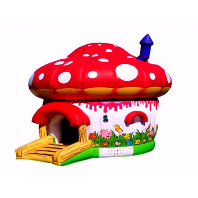 Mushroom Jumping Castle
