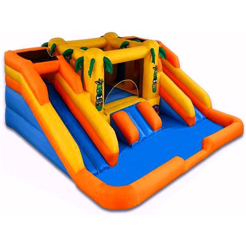 Inflatable Kraken Slide: Cheap Outdoor Rain Forest Water Slide With Park Combo For