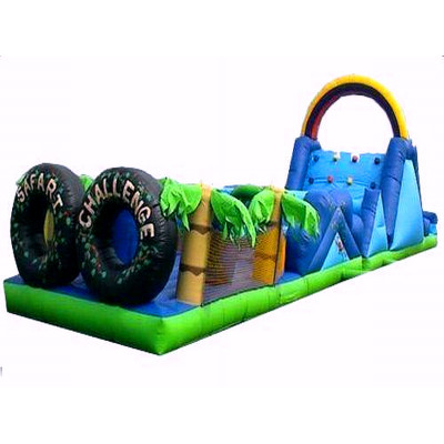 Safari Challenge Inflatable Obstacle