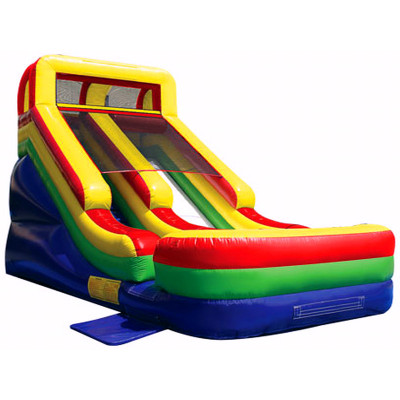 Single Lane Dry Inflatable Slide