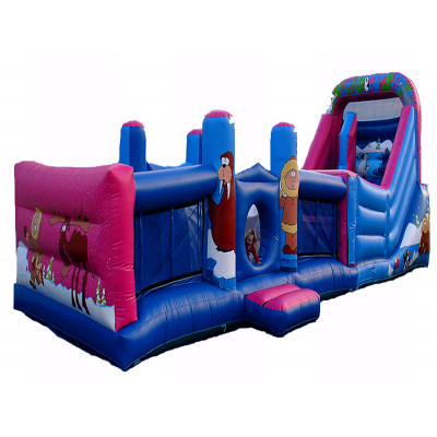 Snow Obstacle Course House