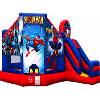 Spider Man Bounce House Slide Combo