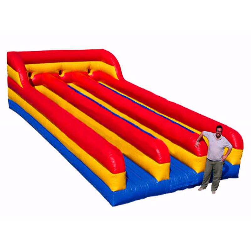 Cheap Outdoor Triple Lane Inflatable Bungee Run For Sale