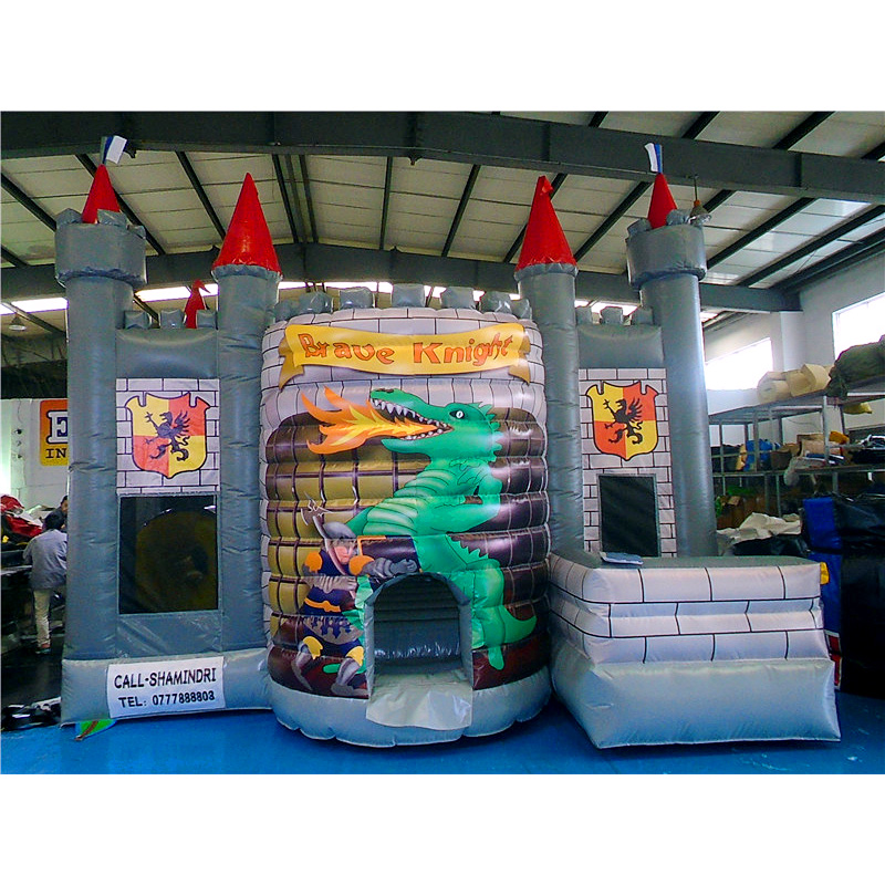 Brave Knight Bouncy Castle Combo Four