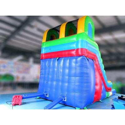 Circular Slide Pool Combo