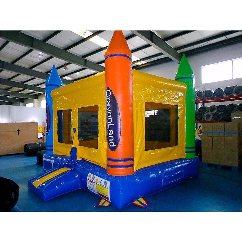 Deluxe Crayon Bounce House
