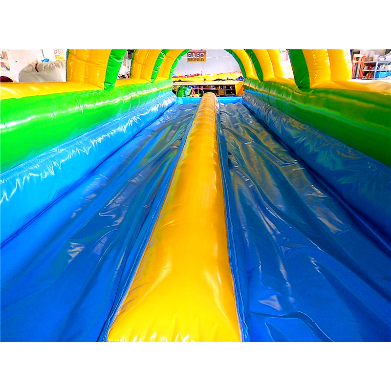 Double Lane Blow Up Slip And Slide