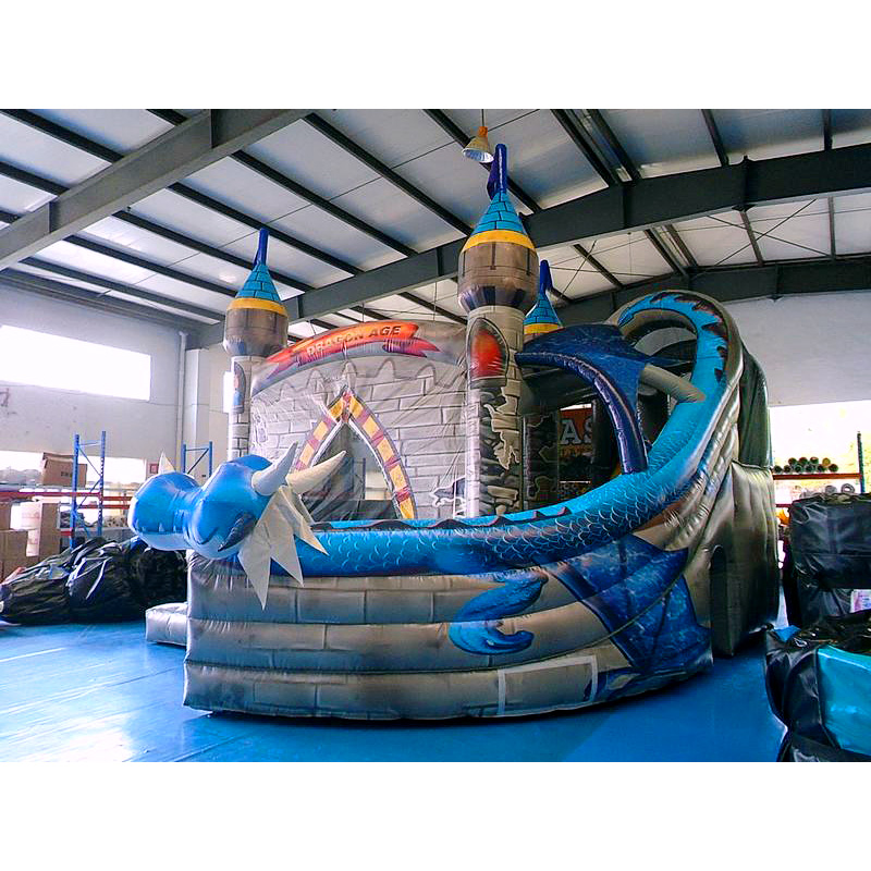 Dragon Bouncy Slide Combo