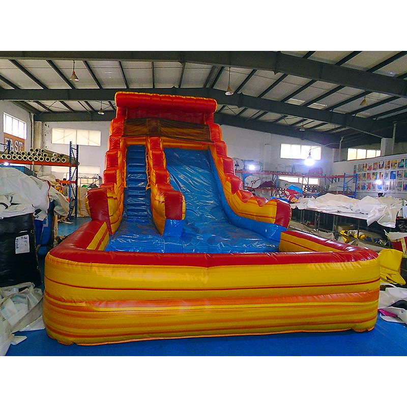 Fire And Ice Waterslide