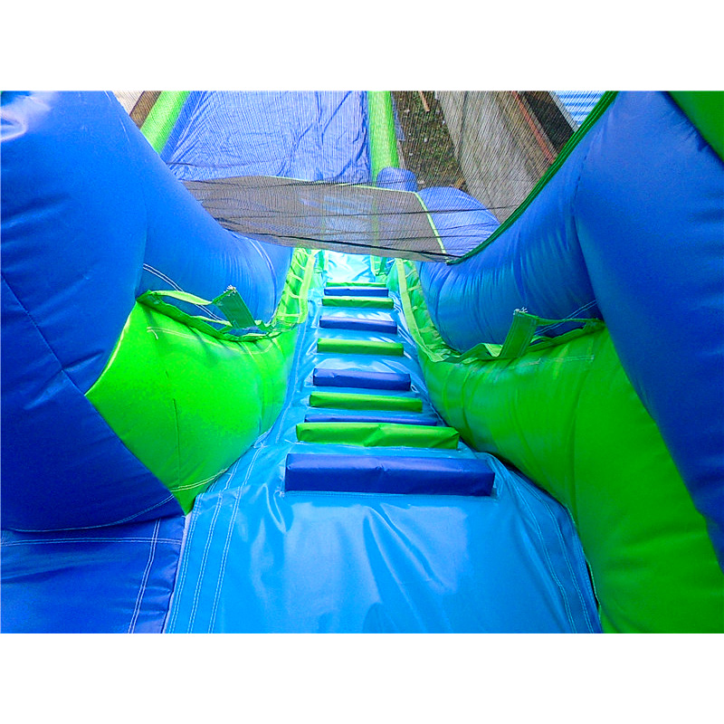 Giant Water Slide And Blow Up Slip N Slide