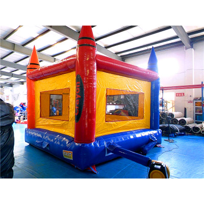 Inflatable Crayon Jump House