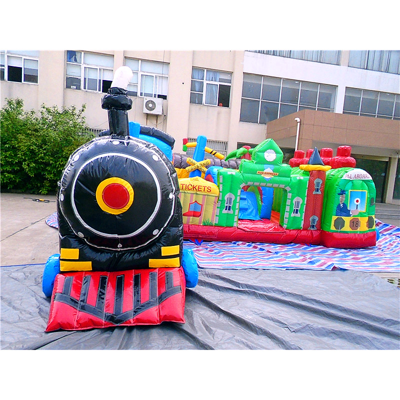 Inflatable Fun Train Station