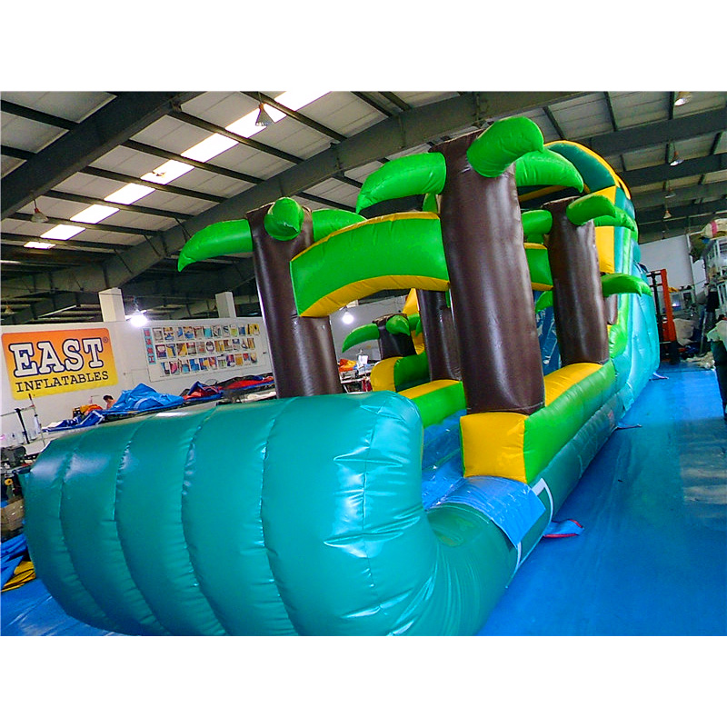 Inflatable Tropical Waterslide
