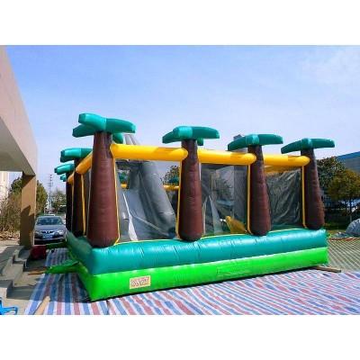 Jurassic Adventure Slide Obstacle Combo