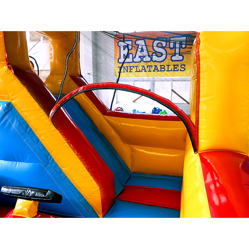 Kids Race Car Inflatable Game