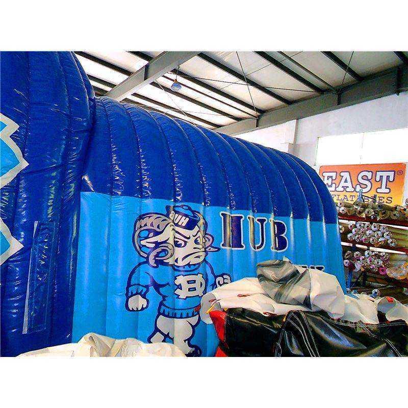 Large Inflatable Football Helmet Tunnel