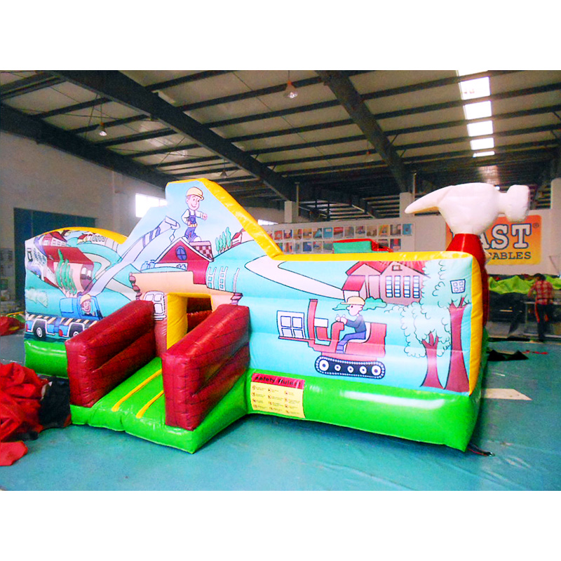 Little Inflatable Kids Builders