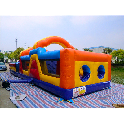 Obstacle Course Bouncy Monster