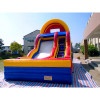 Outdoor Inflatable Curve Slide