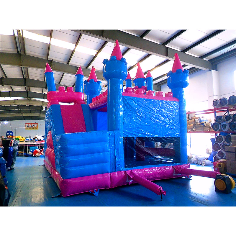 Pink Princess Jumping Castle