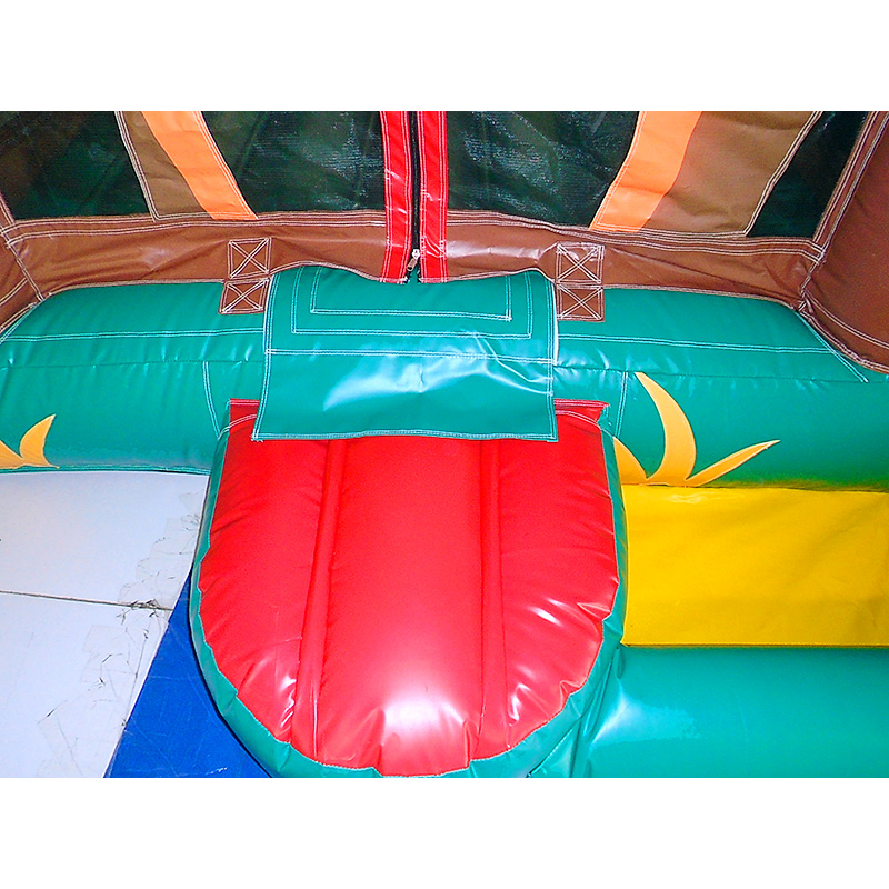 Safari Bouncy Castle Combo