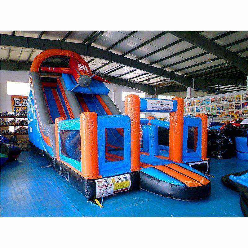 Shark Slide Bouncing House Combo