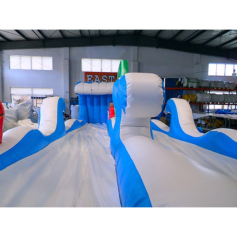 Surf The Wave Inflatable Slide