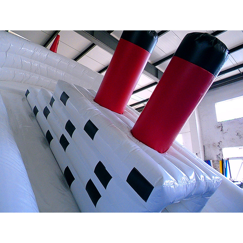 Titanic Blow Up Slide