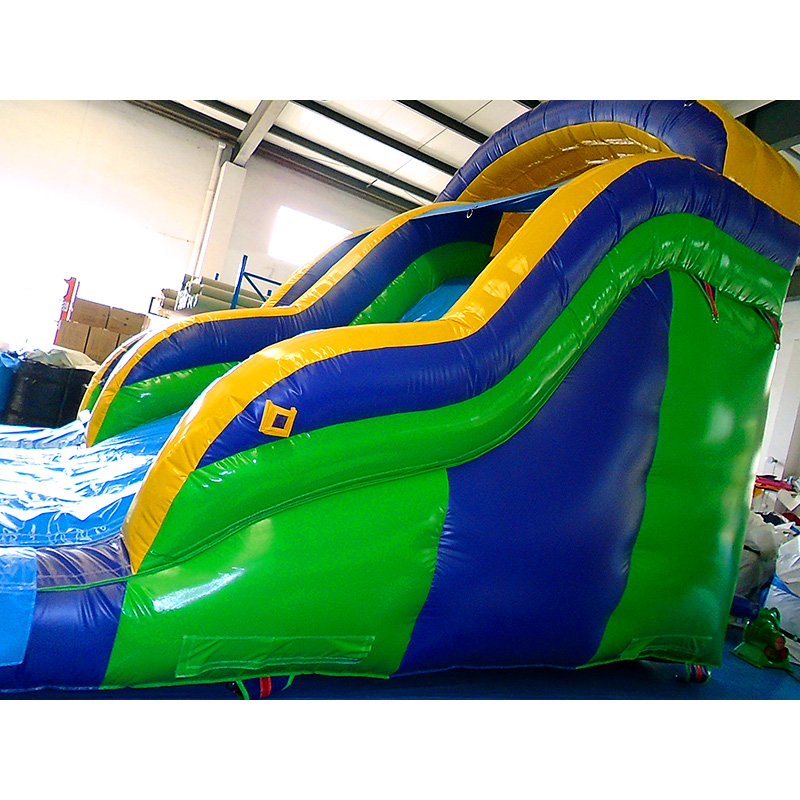 Wave Wet Inflatable Slide